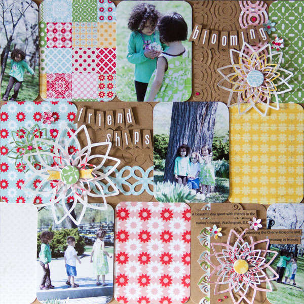Friendships by Cindy Liebel featuring Handmade by Lily Bee