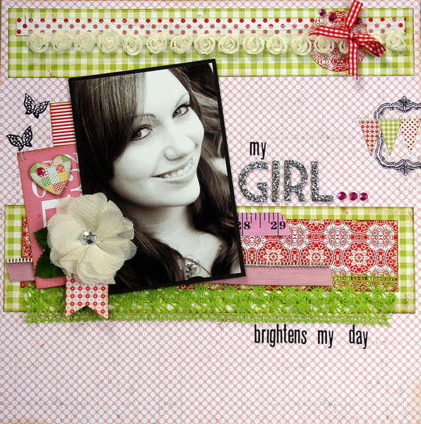 My Girl brigtens my day by Julia Stainton
