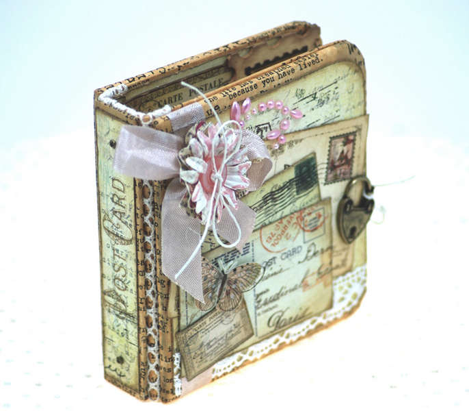 Altered Art :: Post Card