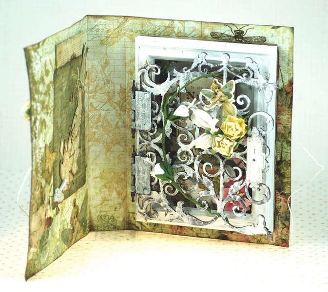 The Fairies :: Shadowbox Card, inside