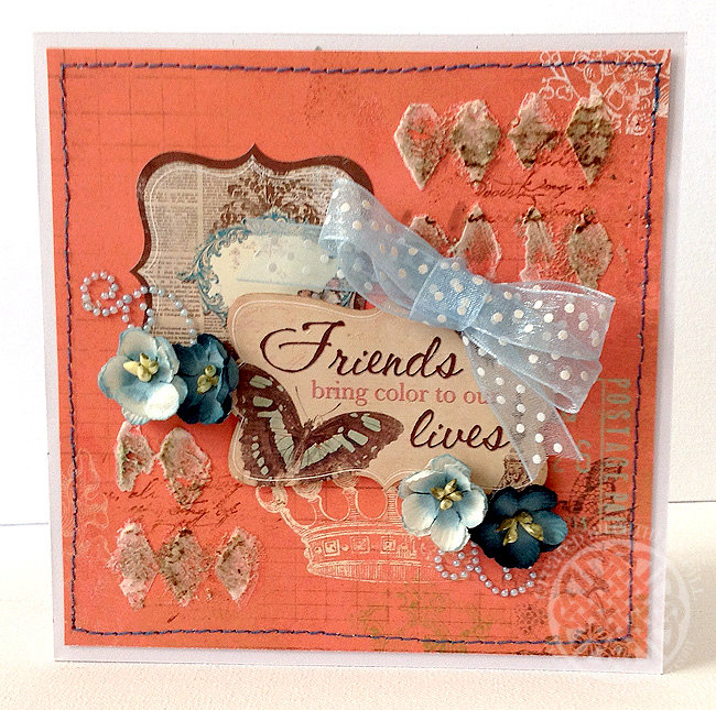Friends Bring Color To Our Lives **C'est Magnfique Kits July 2014**