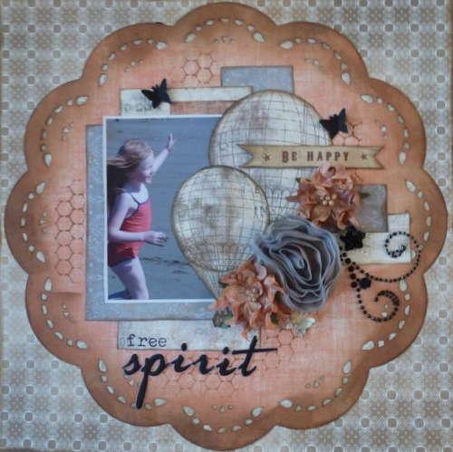 Free Spirit **C'est Magnifique Kits** September Sketch Challenge