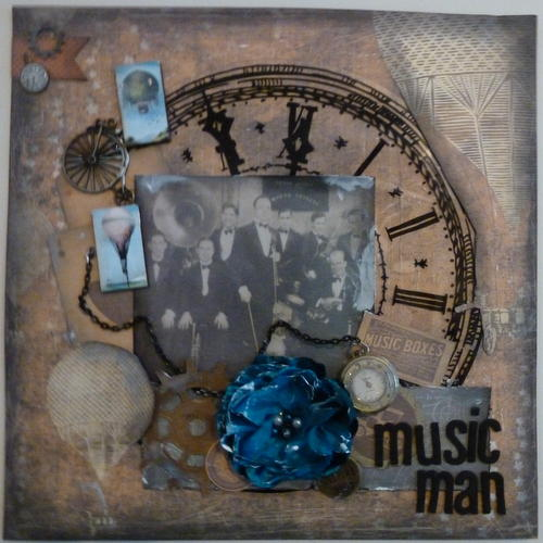Music Man **Scraps of Darkness**My Creative Sketches**
