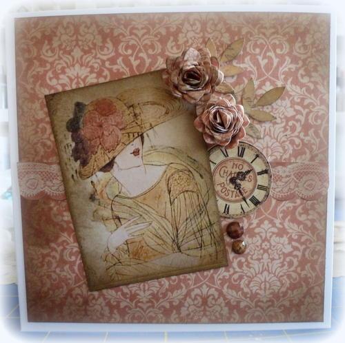 G45 Ladies Diary Card **Scraps of Elegance**