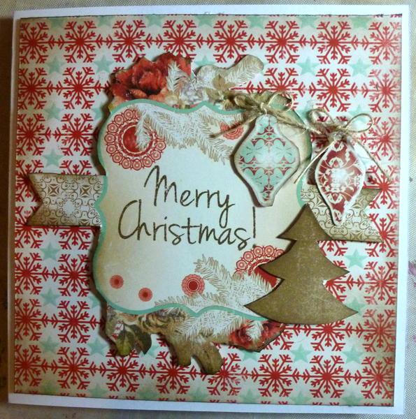Merry Christmas **Scrap Cake Cozy Christmas**
