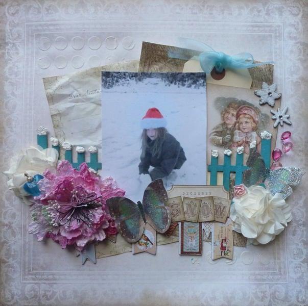 December Snow **C'est Magnifique Kits**