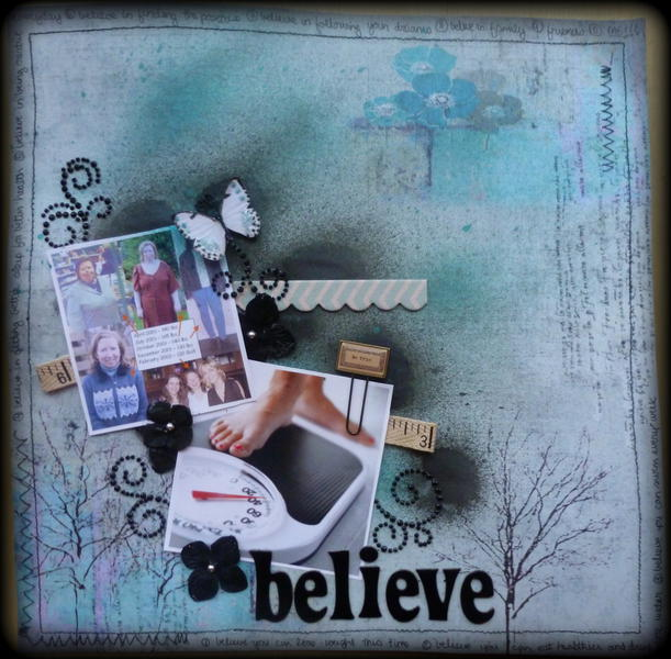 Believe **Paper Mixing Bowl**