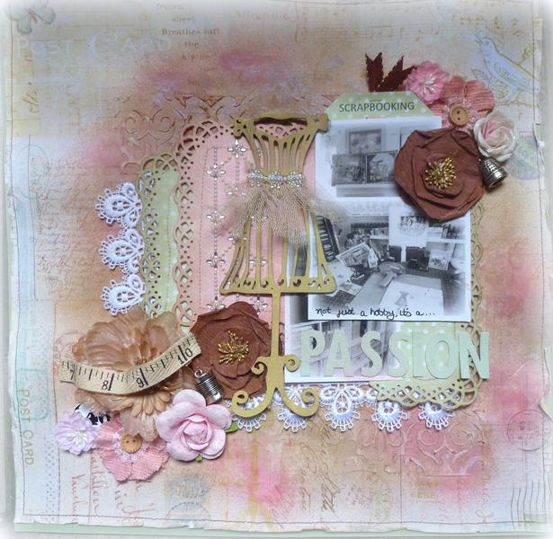 Scrapbooking, Not just a Hobby, it's a Passion! **Scraps of Elegance**