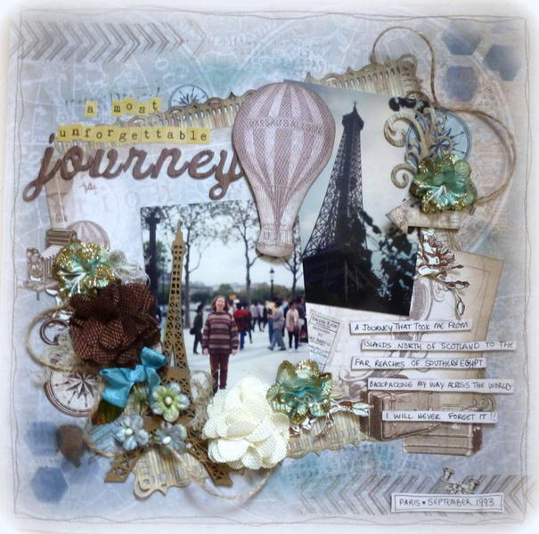 A Most Unforgettable Journey - Frosted Designs DT