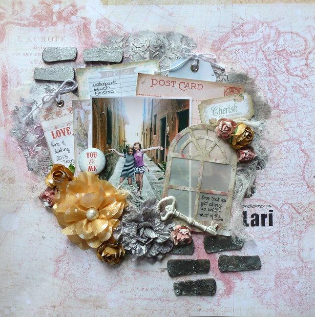 Andiamo a Lari **September GDT Scraps of Elegance**