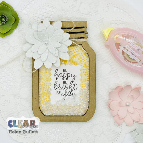 Mini Shaker Mason Jar Card