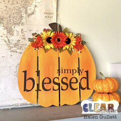 Simply Blessed - Clear Scraps DIY Pallet