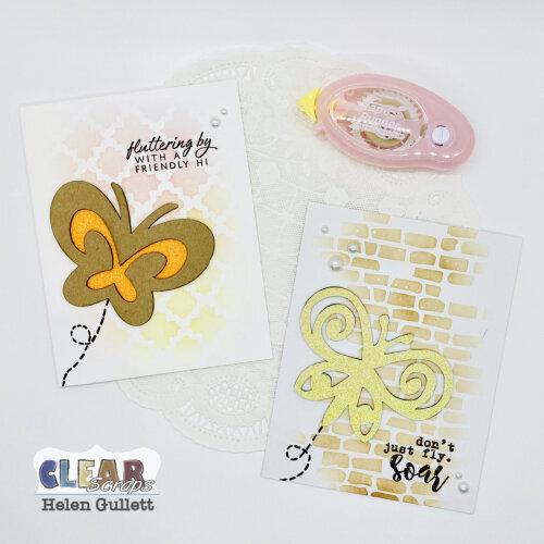 Swirl Butterfly CAS Cards