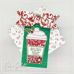 Holiday Treat Tag and Gift Box