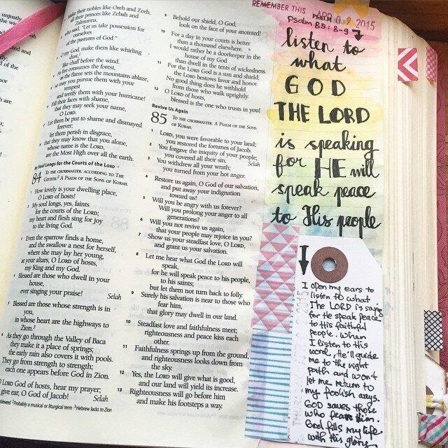 Psalms 85:8-9