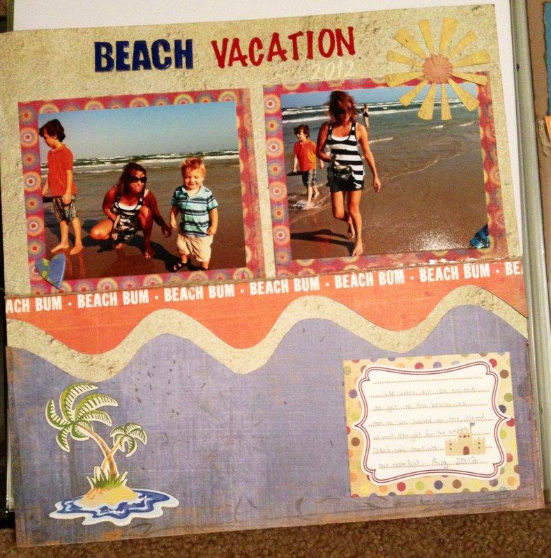 Beach vacation 2012