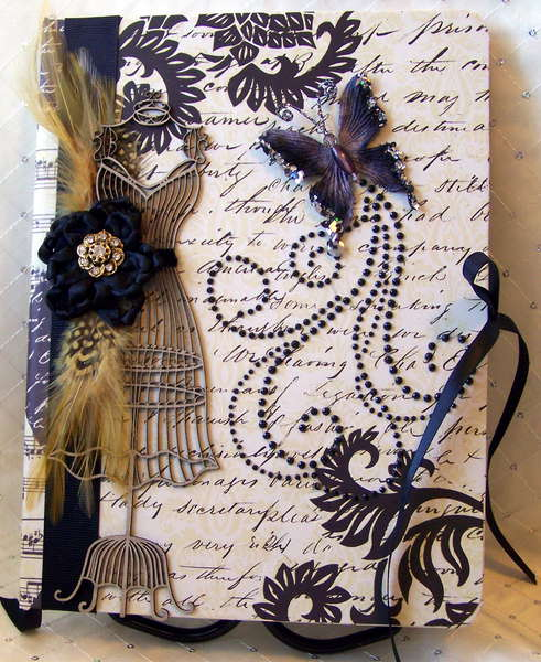 Dress Form & Butterfly Journal