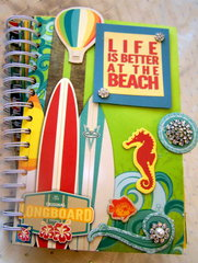 """""""Life is Better at the Beach"""" Summer Photo Journal"""