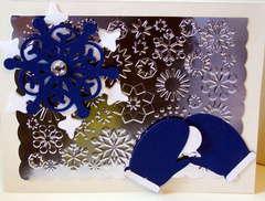 Christmas Flurries Card