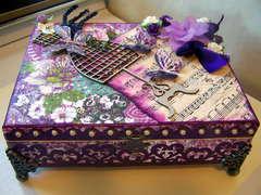 Dress Form Jewelry Music Box
