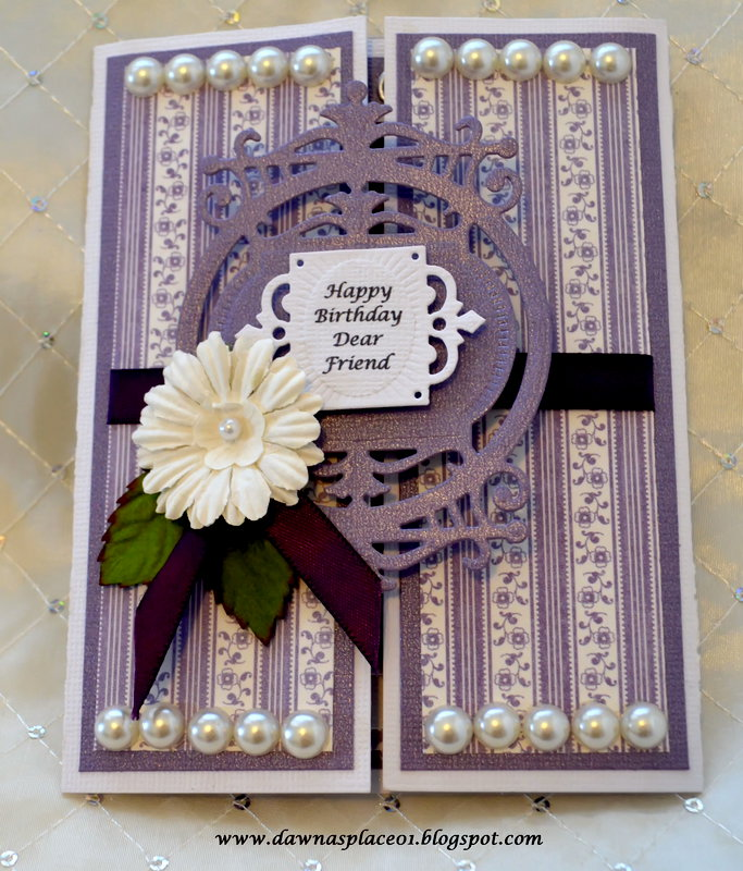 Gate Fold Brithday Card