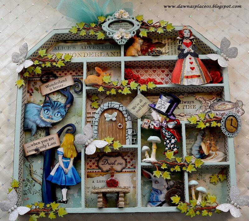 Alice in Wonderland Doll House