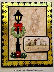 All is Calm and Bright Christmas Card