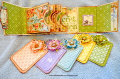 Secrect Garden Coin Envelope Mini Album