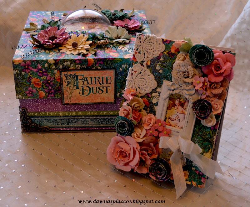 Fairie Dust Shaker Box and Mini Album