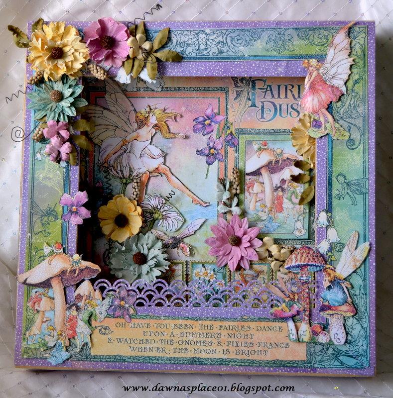 Fairie Dust Shadow Box