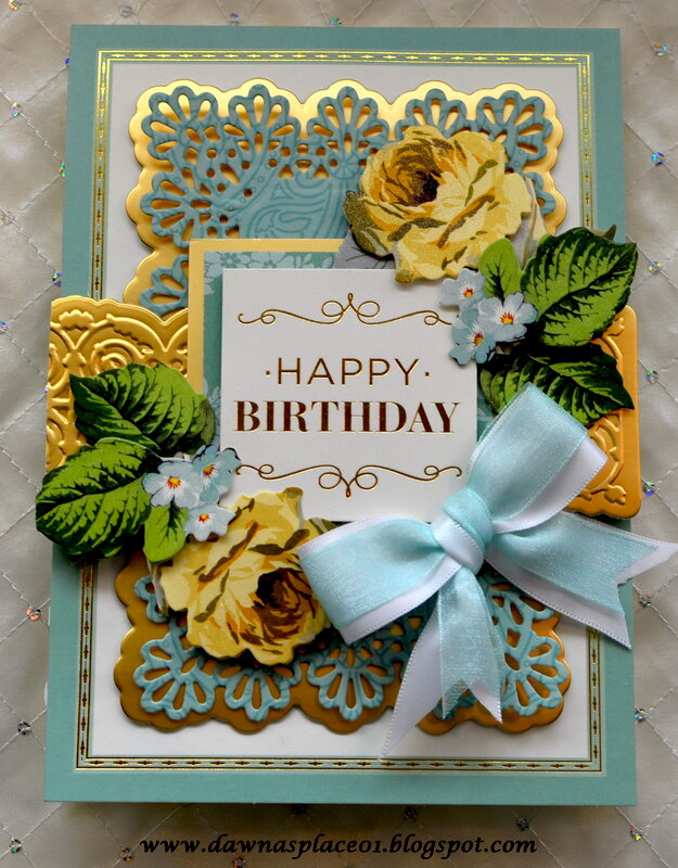 Happy Birthday Swivel and Pop Card