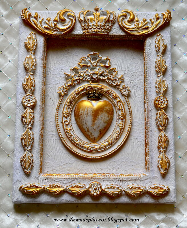 Royal Heart of Gold Frame
