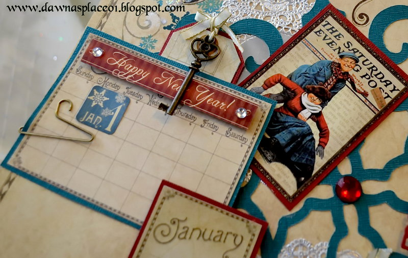 Place in Time Calendar - January Page