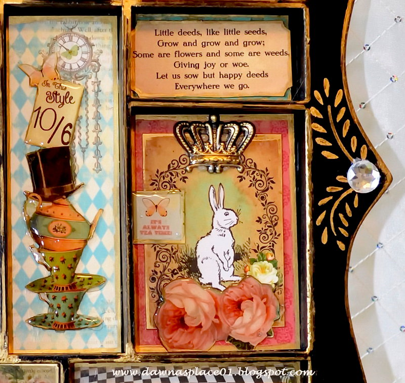 Creative Journey - Mad Hatter Printer Tray for Susie