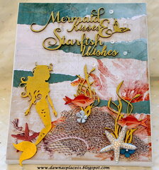 Mermaid Kisses & Starfish Wishes Canvas