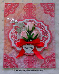 Rose Bud For You Card