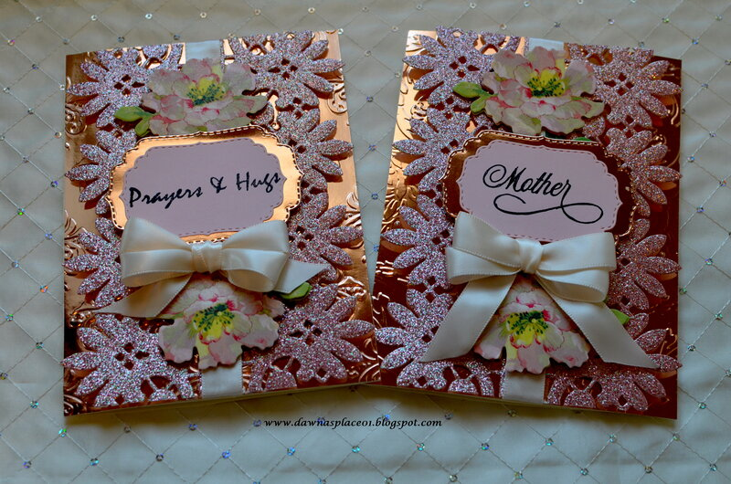 Prayers and Hugs / Mother's Day Card