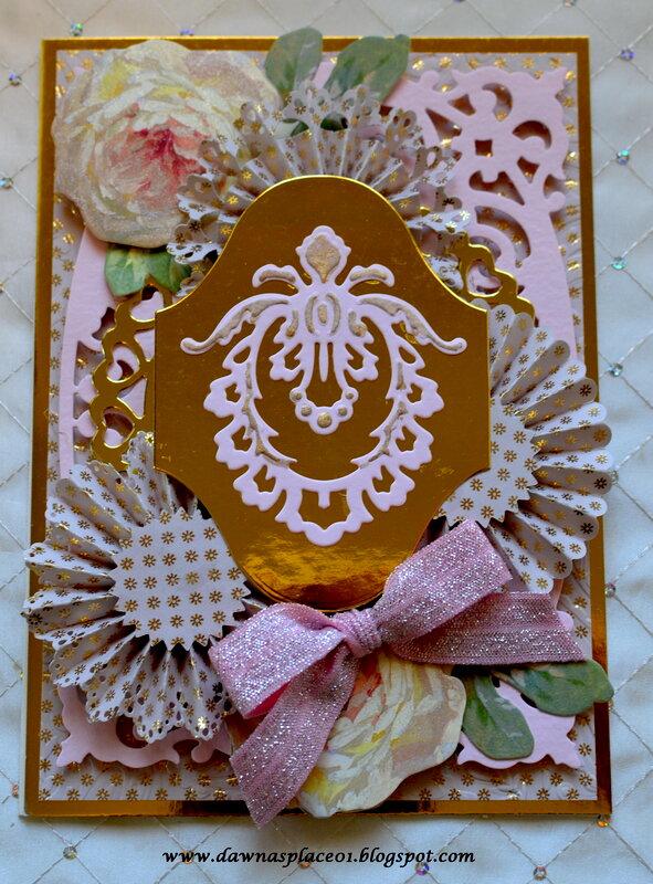 Fleur De Les Rosette Card