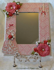Goodies Bag Swap #2...Vintage Shabby Chic Dress Form Mirror