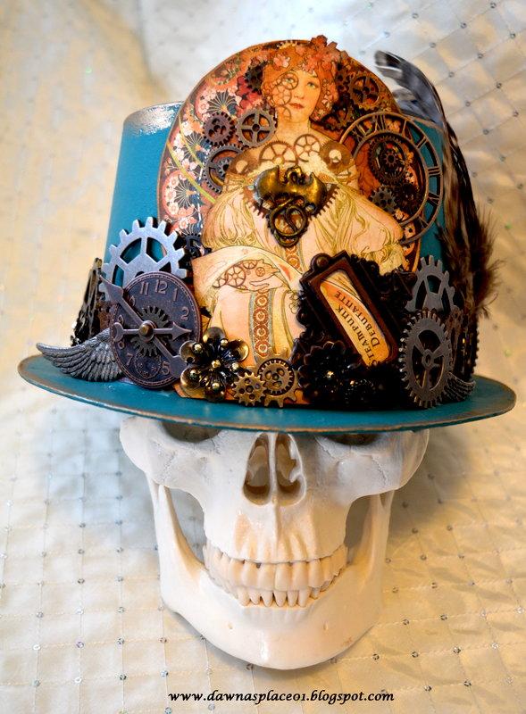 Steampunk Debutaunte Hat