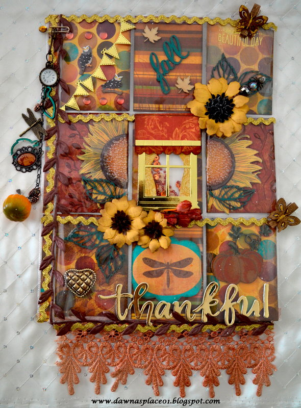 Autumn/Thanksgiving Pocket Letter