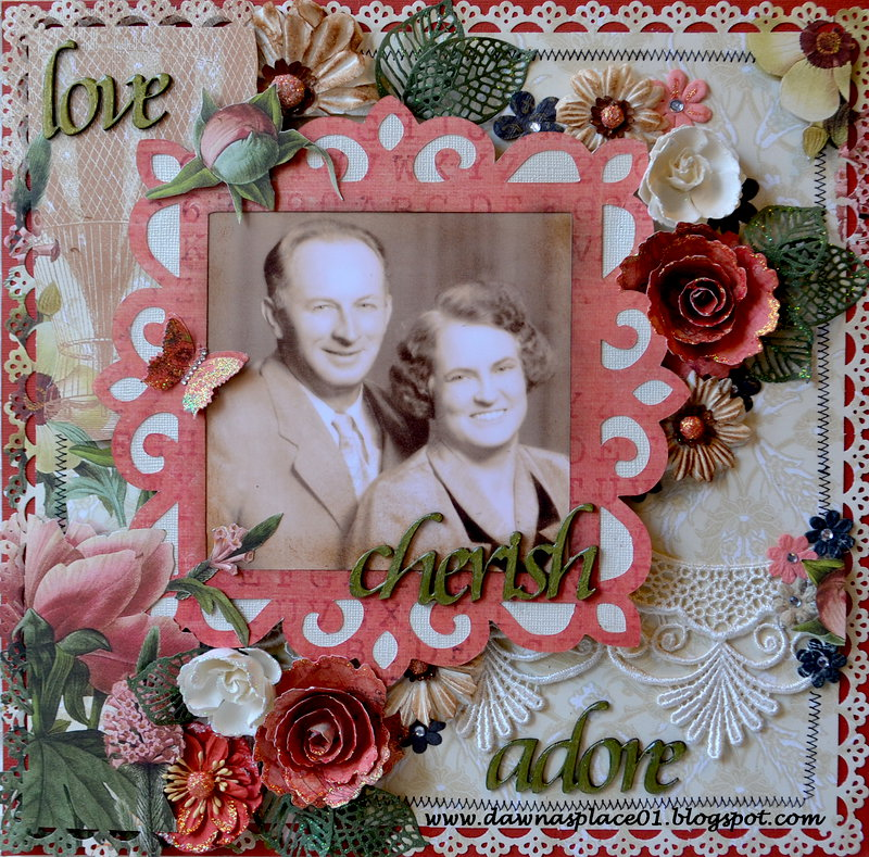 Love, Cherish and Adore - Grandpa and Gradma Jones
