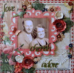 Love, Cherish and Adore - Grandpa and Gradma Jones