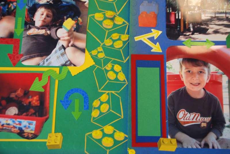 LEGO boy 12 by 12 layout