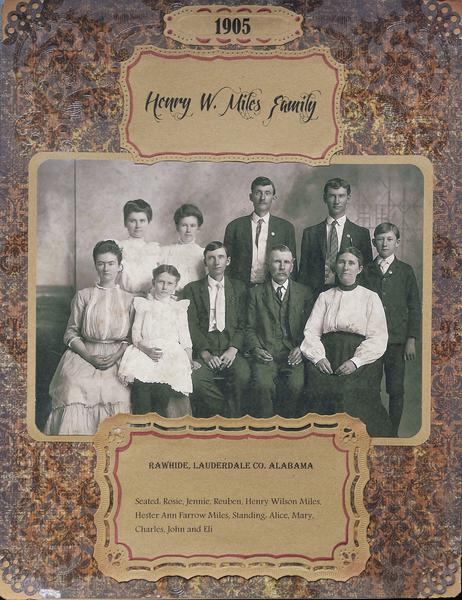 1905 Henry W. Miles Family