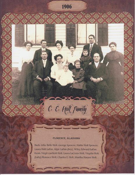 Holt Family 8.5 x 11 version