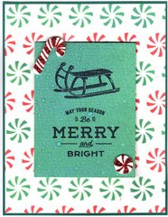 Shifter Peppermint Stampers Anon THS137 Layered Stencil Tim Holtz