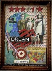 We Have A Dream Mixed Media Projecit