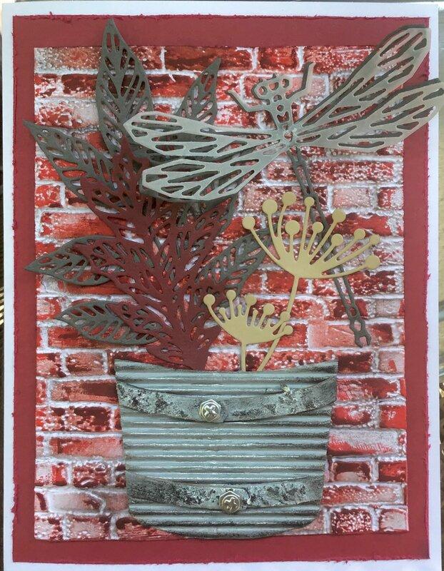 Galvanized Bucket Floral