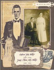 Andrew & Aunt Jennie Walker